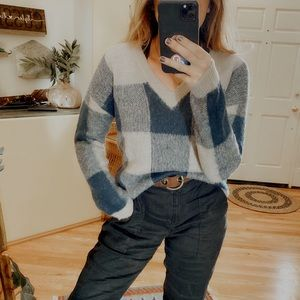 Lucky Brand Sweaters - NWT Lucky Brand Buffalo Plaid Pullover Sweater